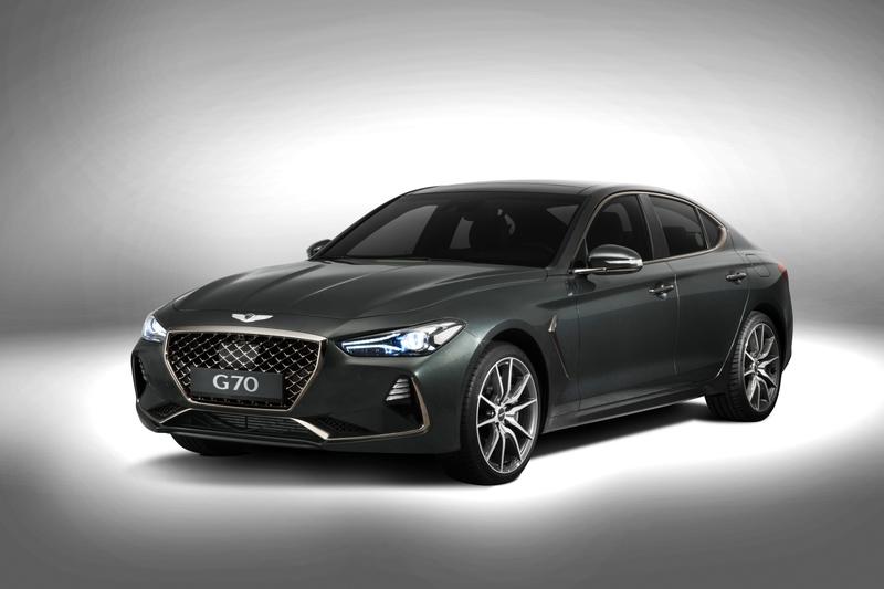 Genesis представил новый премиальный седан G70